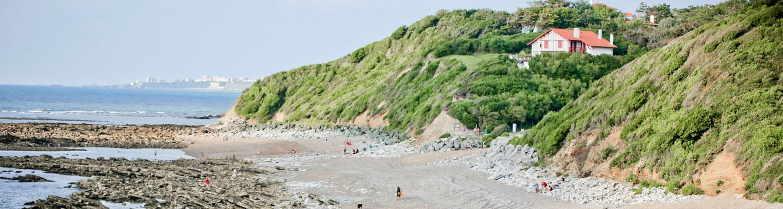 sentier littoral camping merko lacarra