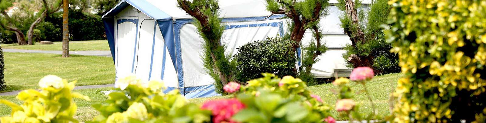 Camping avec espace vert pays basque