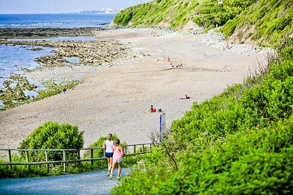 het strand van Saint-Jean-de-Luz